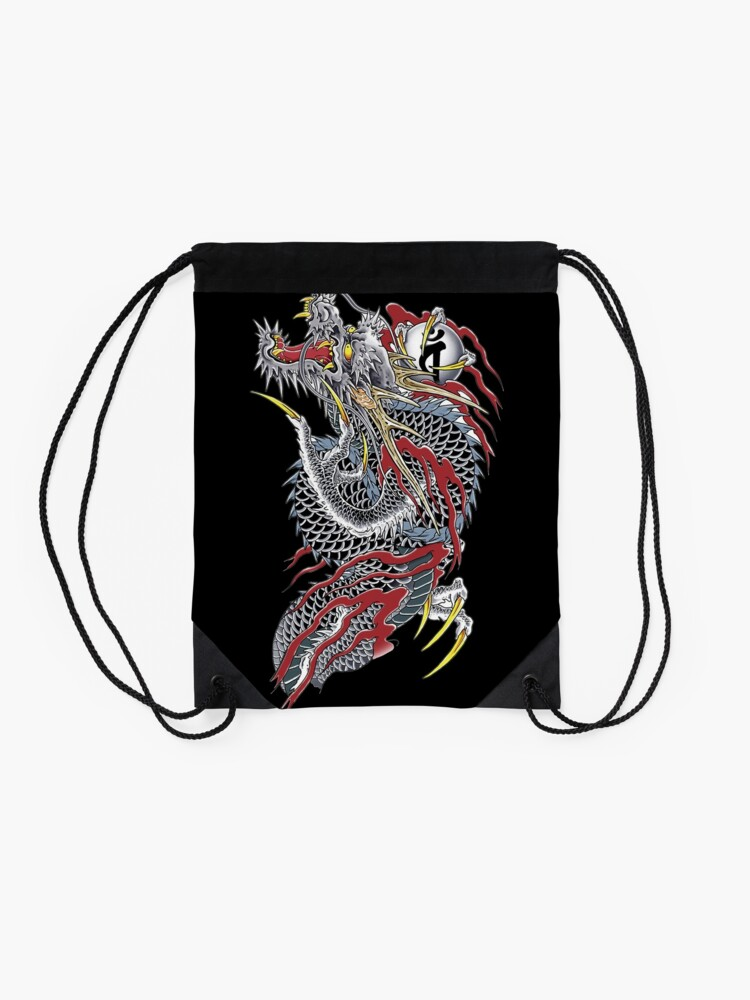 Alternate view of Yakuza  Drawstring Bag