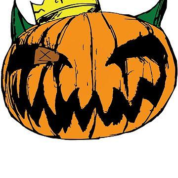 pumpkin king by Malentis