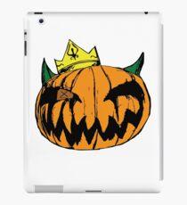 pumpkin king iPad Case/Skin