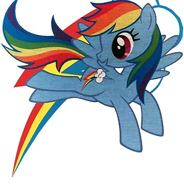 rainbow dash by Malentis