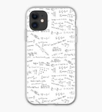 Math Formulas And Numbers iPhone Case