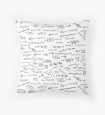 Math Formulas And Numbers Throw Pillow
