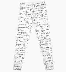 Math Formulas And Numbers Leggings