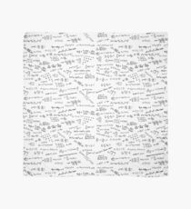 Math Formulas And Numbers Scarf