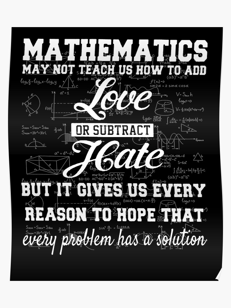 Image result for math add love and subtract hate