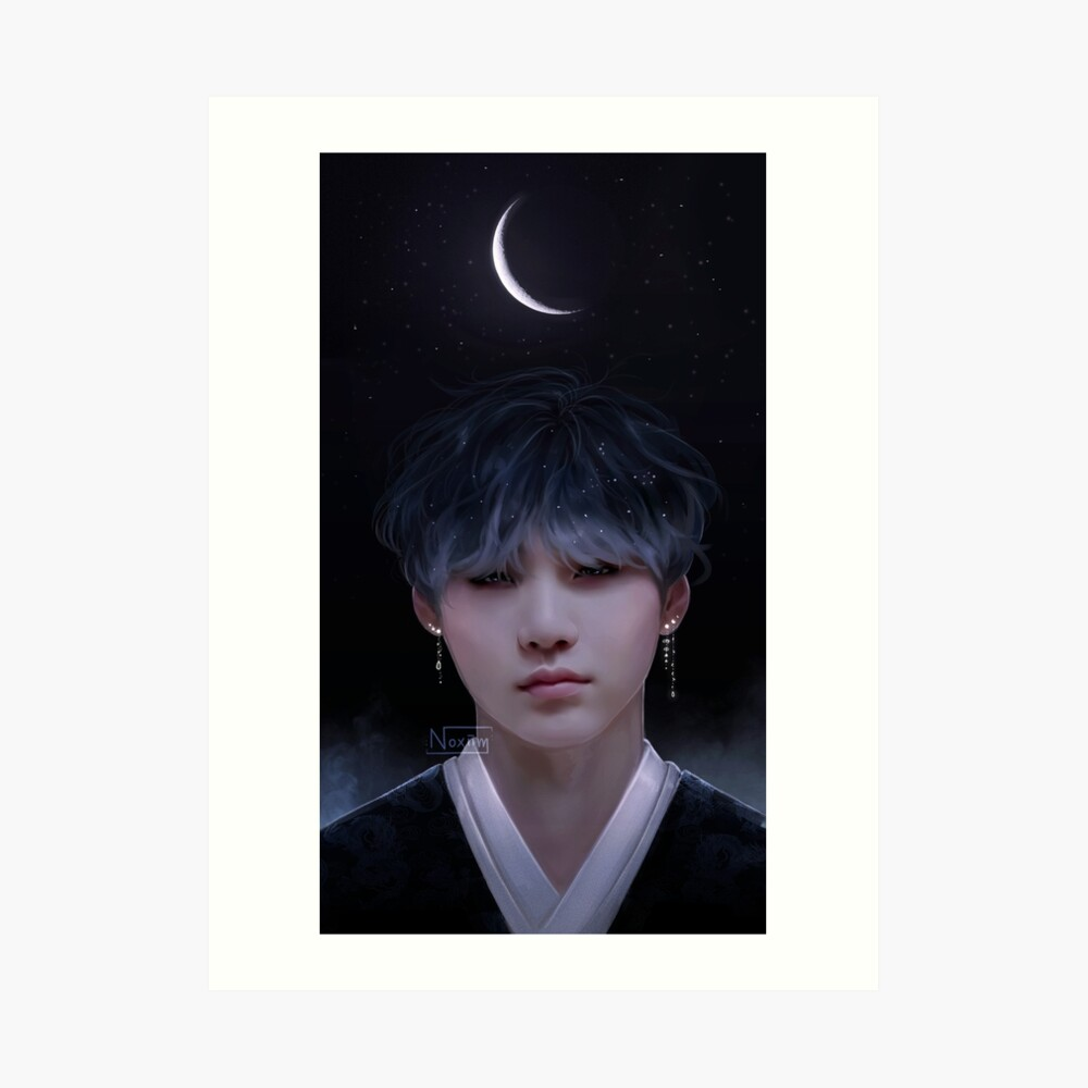 180309 Alles Gute zum Geburtstag Yoongi Kunstdruck