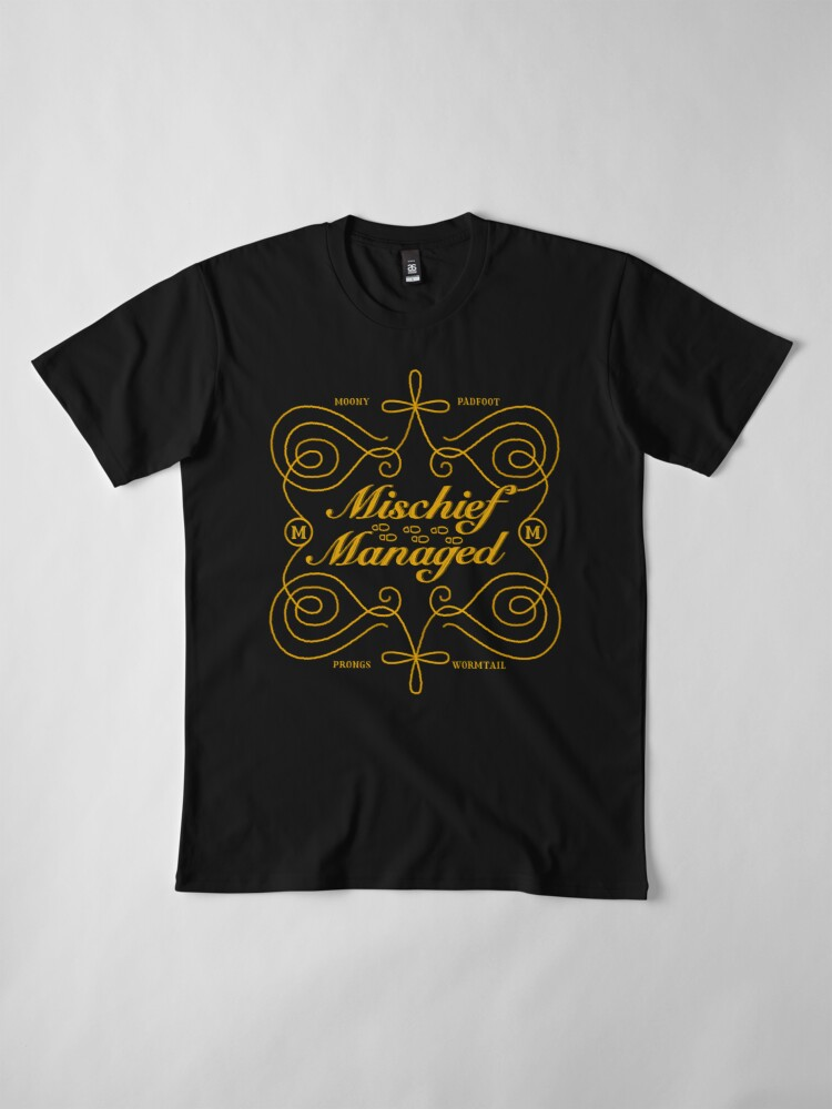 Alternate view of Mischief Managed Premium T-Shirt
