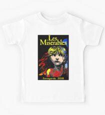 LES MISERABLES: Weinlese-Spiel Kinder T-Shirt