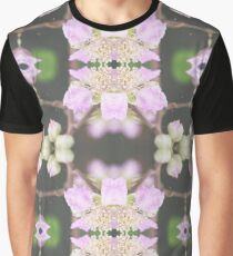 Pink Web Graphic T-Shirt
