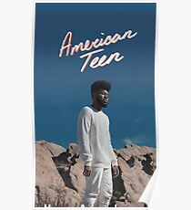 Khalid American Teen Case Poster