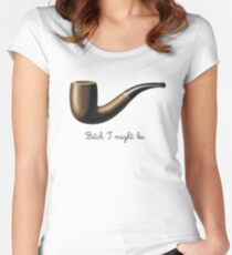 bitch I might be Women's Fitted Scoop T-Shirt