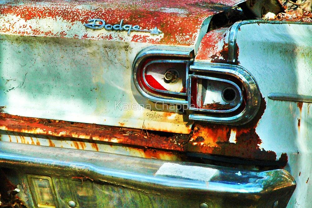 Old Bumper by Kalena Chappell