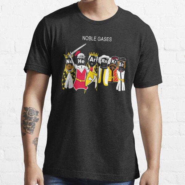 Noble Gases - Rn Ne Ar Xe He Kr Essential T-Shirt