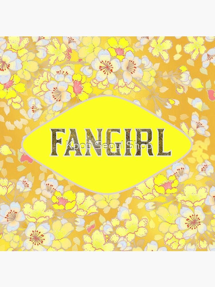 FANGIRL - FLORAL GELB von CynthiaAd
