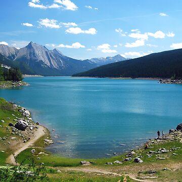 Medicine Lake - Jasper  by buzzword