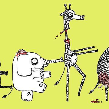 Zombie Zoo by jrock1184