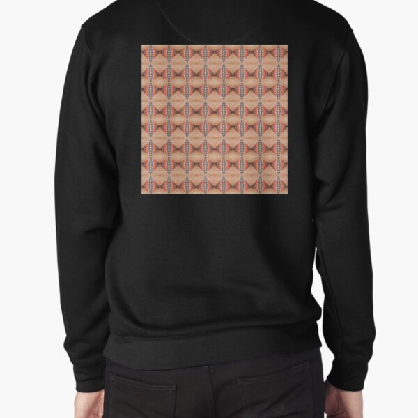 Tile, original, ingenious, novel, own, individual, unorthodox, refined Pullover Sweatshirt