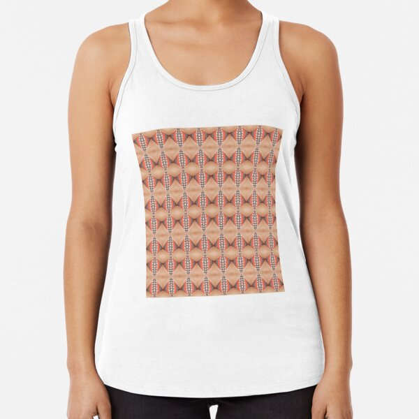 Tile, original, ingenious, novel, own, individual, unorthodox, refined Racerback Tank Top
