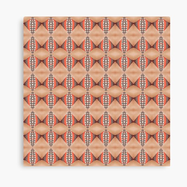 Tile, original, ingenious, novel, own, individual, unorthodox, refined Canvas Print