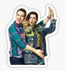 Janis and Damian Mean Girls the Musical Sticker