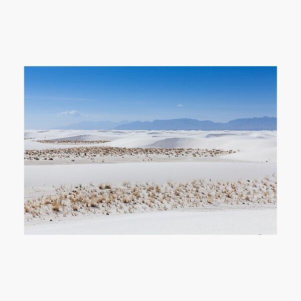 White Sands Photographic Print