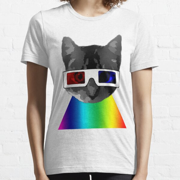 3D Cat Essential T-Shirt