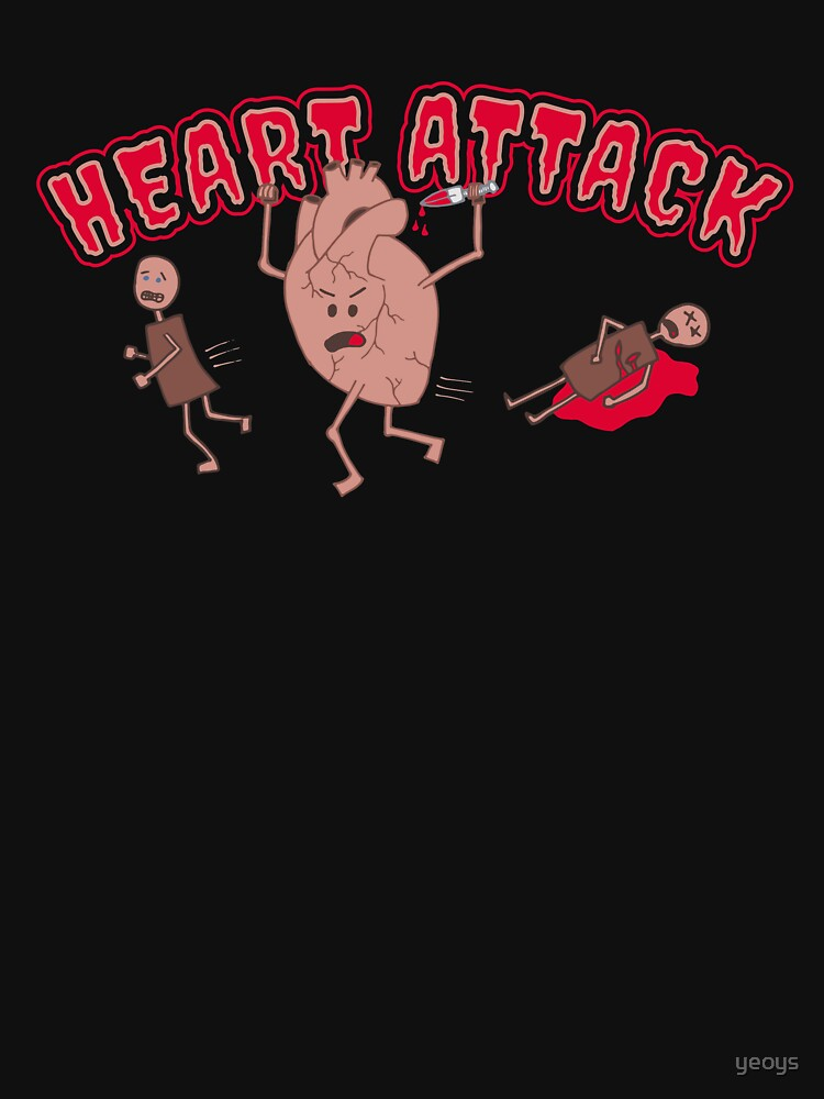 Heart Attack - Funny Doctor Pun Gift by yeoys