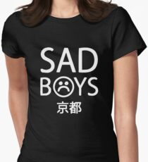 Yung Lean Sad Boys logo Women's Fitted T-Shirt