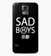 Yung Mageres trauriges Jungenlogo Hülle & Klebefolie für Samsung Galaxy