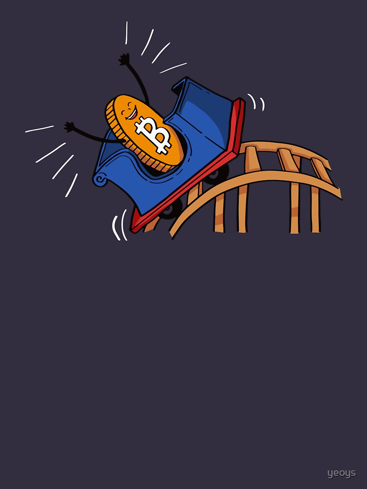 Bitcoin Rollercoaster - Crypto Currency Gift by yeoys