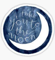Pegatina llevarte a la luna