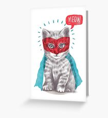 At Your Service Greeting Card