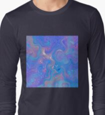 Textured Sky Long Sleeve T-Shirt