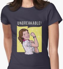 Unbreakable! Women's Fitted T-Shirt