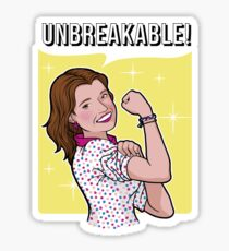Unbreakable! Sticker