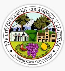 Seal of Rancho Cucamonga  Sticker