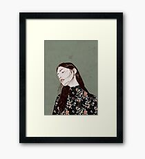 THE REVENGE ELENA GARNU Framed Print