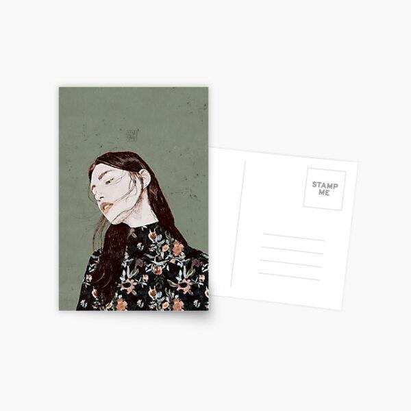 THE REVENGE ELENA GARNU Postcard