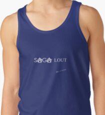 SAGA Lout - Fun Punk Rock Tshirt Men's Tank Top