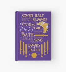 The Prophecy of Seven Hardcover Journal