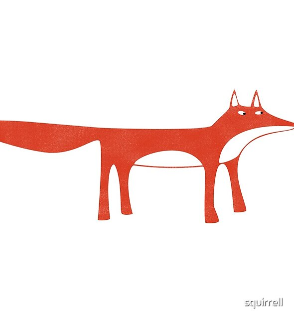 Wild Red Fox by Nic Squirrell