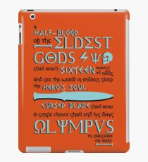 The Great Prophecy iPad Case/Skin