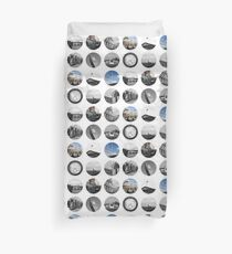 London Snapshots Duvet Cover