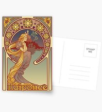 Raiponce Postkarten