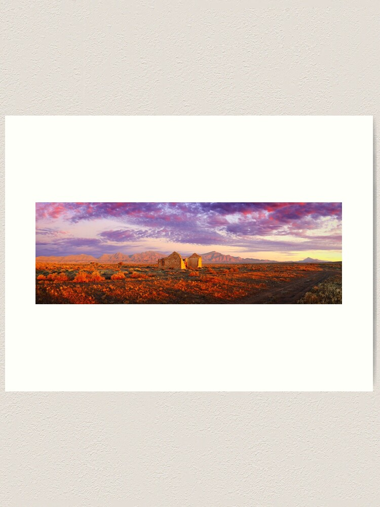 Alternate view of Settler's Ruin, Flinders Ranges, South Australia Art Print