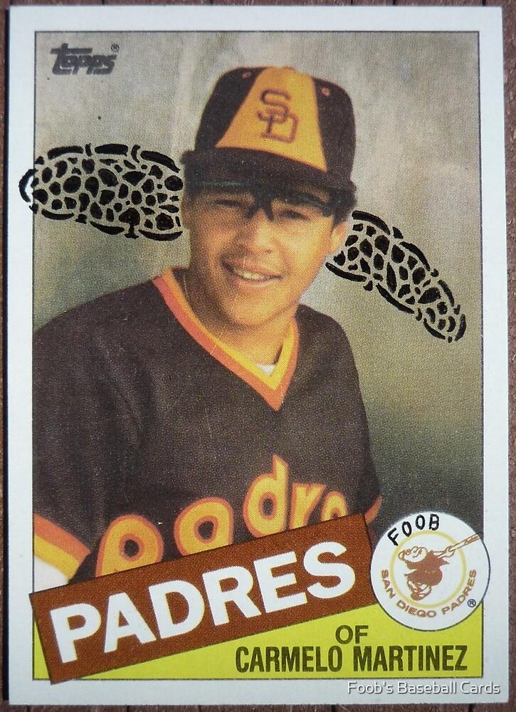 031 - Carmelo Martinez by Foob's Baseball Cards