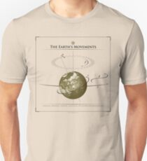 Los movimientos de La Tierra Unisex T-Shirt