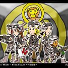Kawaii War - Fireteam Pride by Arcemise