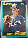 390 - Rick Leach by Foob's Baseball Cards