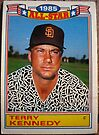 391 - Terry Kennedy by Foob's Baseball Cards